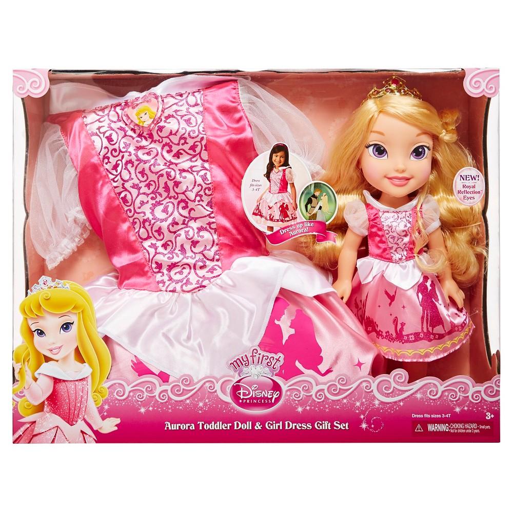 Disney Princess Toddler Doll With Dress: Disney Princess Aurora Toddler Doll And