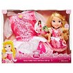 Disney Princess Aurora Toddler Doll & Girl Dress Gift Set