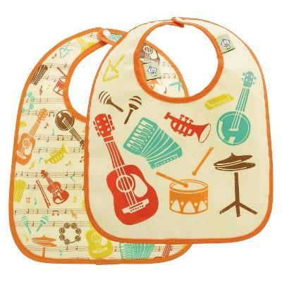 SugarBooger 2pk Bib Gift Set - Music
