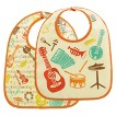 SugarBooger 2pk Bib Gift Set - Music
