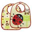 SugarBooger 2pk Bib Gift Set - Ladybug