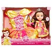 Disney Princess Belle Toddler Doll & Girl Dress Gift Set