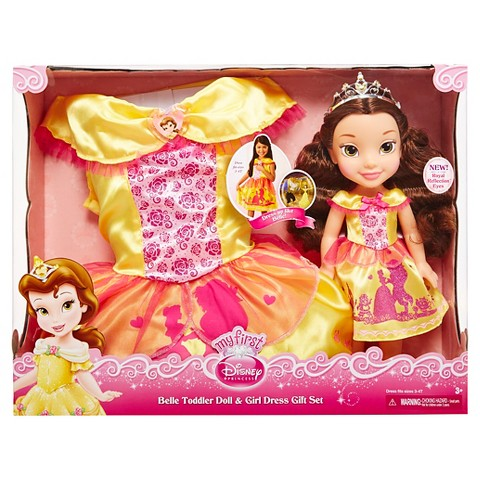 Disney princess belle toddler doll amp girl dress gift set product
