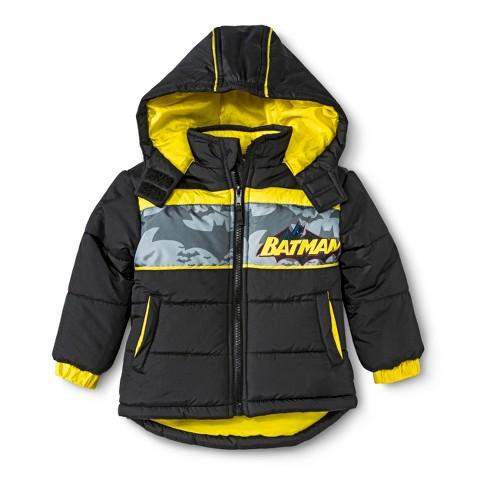 Batman Toddler Boys' Puffer Jacket