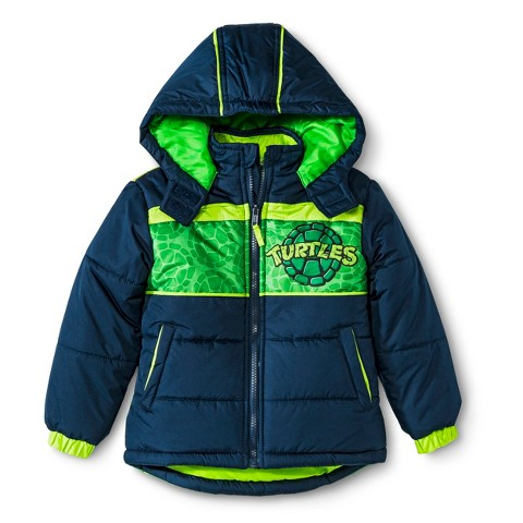 Teenage Mutant Ninja Turtles Toddler Boys' Puffer Jacket
