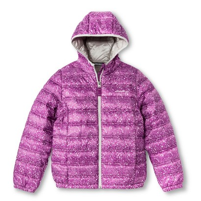 Eddie Bauer® Girls' Dotted Quilted Puffer Jacket