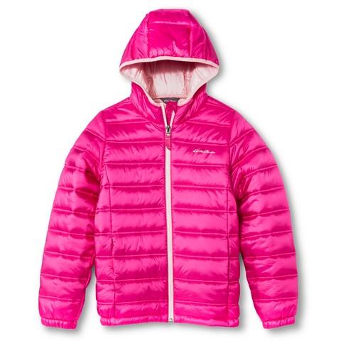 Eddie Bauer® Girls' Quilted Puffer Jacket
