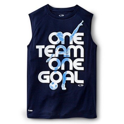 C9 by Champion® Boys' Graphic Soccer Muscle Tank