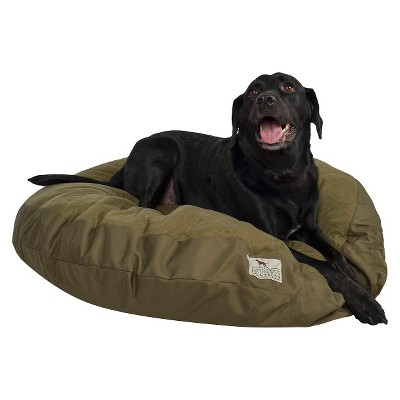 "Sporting Dog Solution Round Gussted Pilow Bed - 40""x3"""