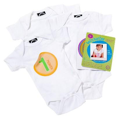 Slick Sugar Newborn Neutral Watch Me Grow Gift Set - White
