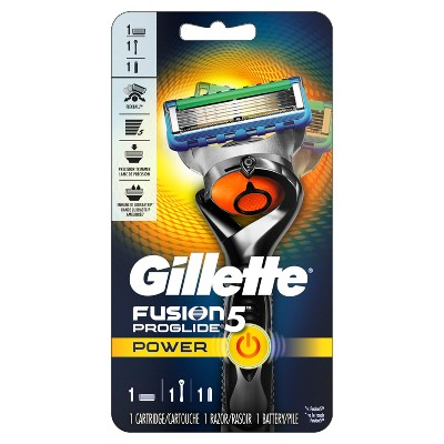 Gillette Fusion ProGlide Power Razor with Flexball Handle Technology and one Power Razor Blade Refill - 1
