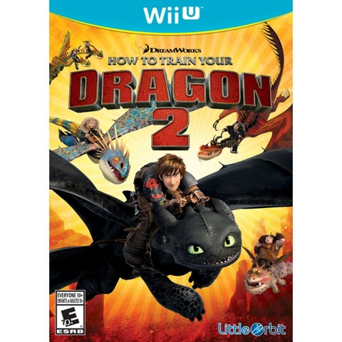 Dreamworks How To Train Your Dragon 2: The Video Game (Nintendo Wii U)