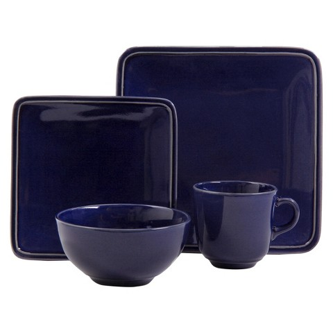 threshold square glazed 16 pc dinnerware set target