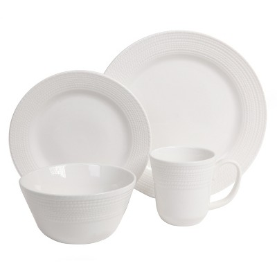 Threshold™ Coastal 16 Piece Dinnerware Set - White