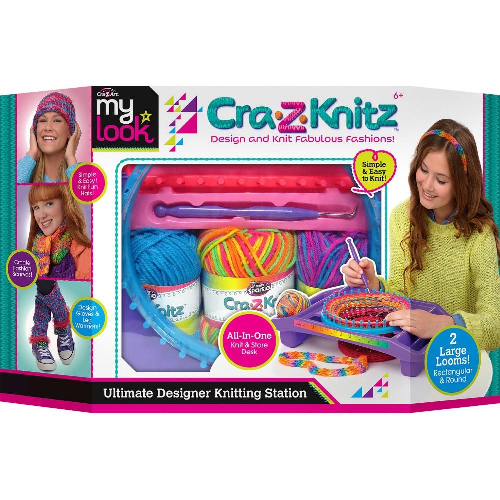Knitting Markers Walmart : Upc cra z art knitz ultimate design