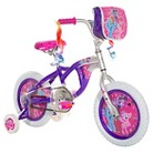 "Girl's My Little Pony Bike - Purple/Silver (14"")"