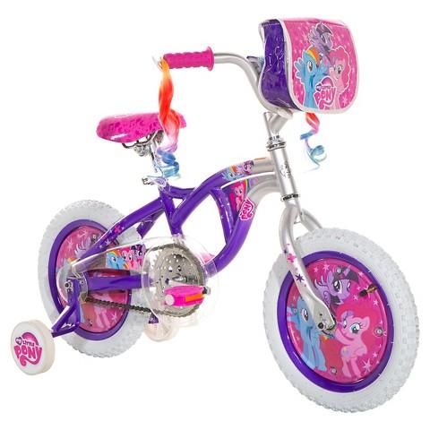 Girl s my little pony bike purple silver 14 quot target
