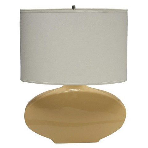 Haeger Oval Table Lamp