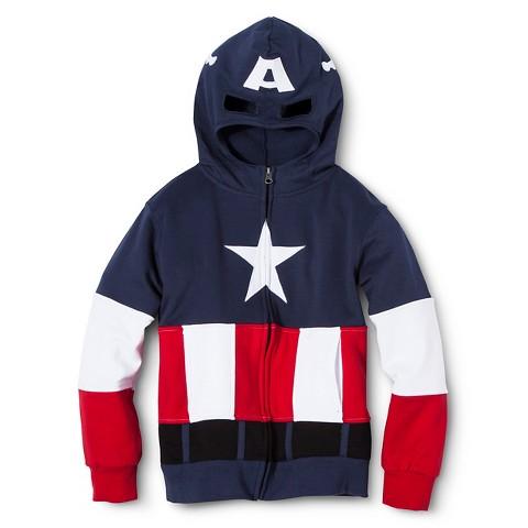 Boys' Avengers Captain America Hoodie