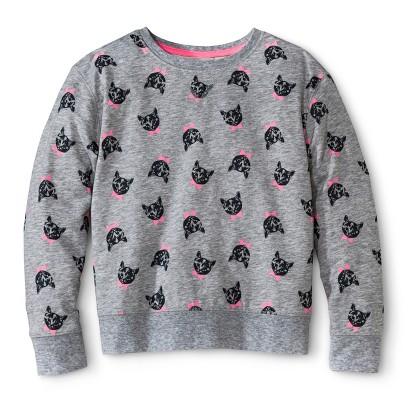 Girls' Cat Sweatshirt