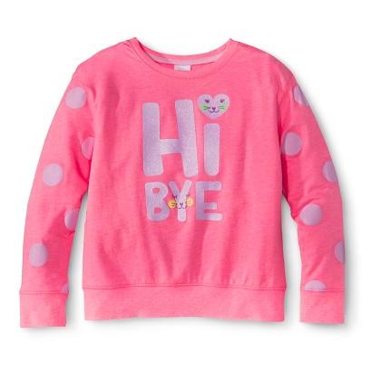 Girls' Hi-Bye Sweatshirt