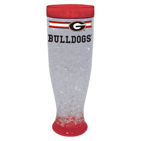 Georgia Bulldogs Ice Pilsner Glass