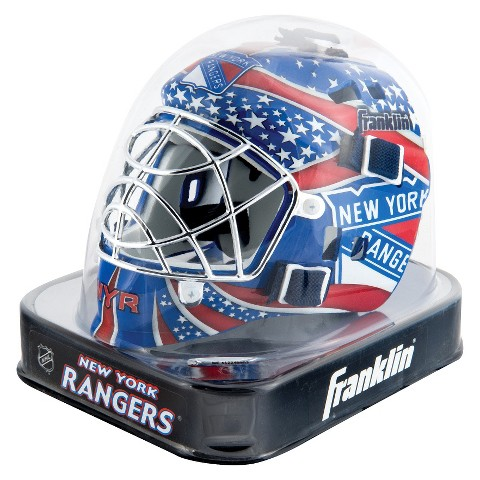 Franklin Sports NHL New York Rangers Mini Goalie Mask