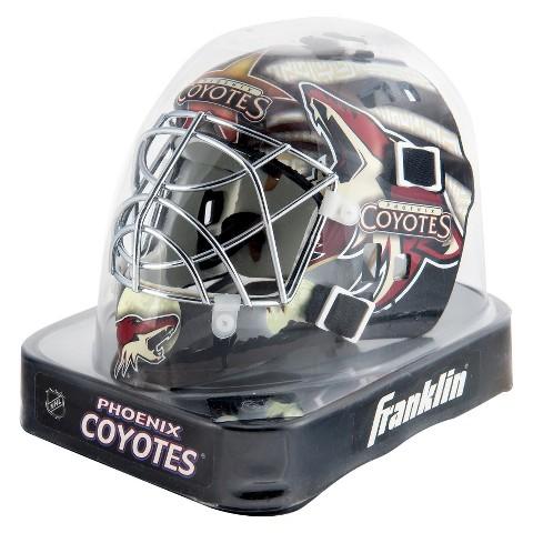 Franklin Sports NHL Phoenix Coyotes Mini Goalie Mask