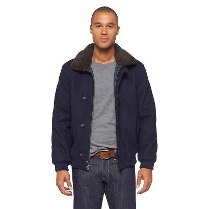 Men's Fur Collar Bomber Jacket