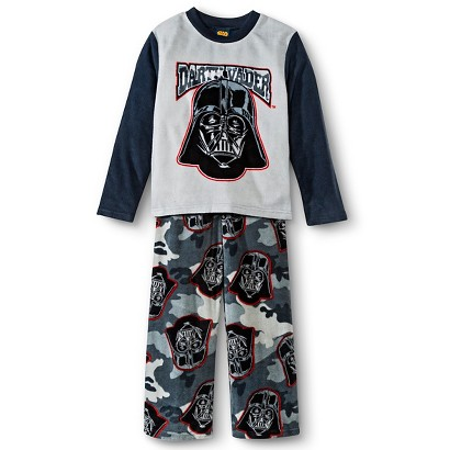 Star Wars Boys' 2-Piece Fleece Sleep Set