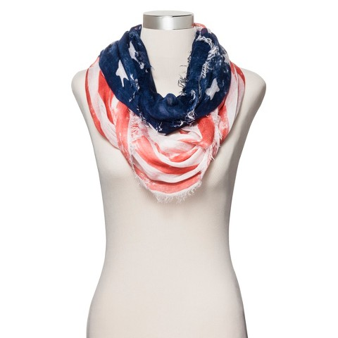 American Flag Infinity Scarf - Multicolor