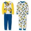 Boys' Despicable Me 4-Piece Mix & Match Minion Pajama Set