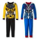Transformers Boys' Long Sleeve 4-Piece Pajama Set