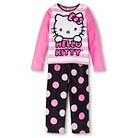Girls' Hello Kitty Fleece Pajamas