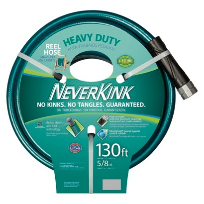Apex Neverkink Heavy Duty Reel Hose Green 130'