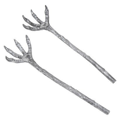 Image of Halloween Claw Salad Servers Set of 2