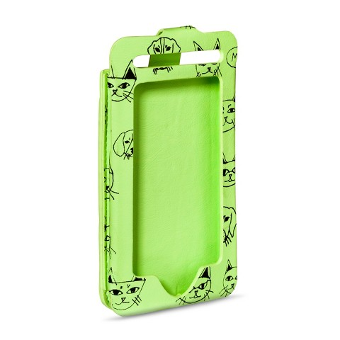 Cat and Dog Phone Case - Green