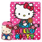 Hello Kitty Throw in a Backpack