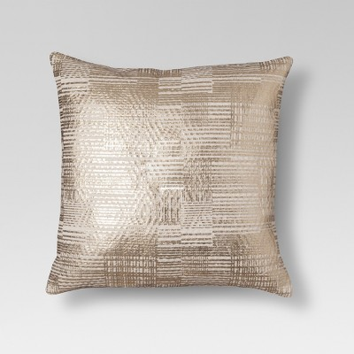 Threshold Gold Foil Throw Pillow