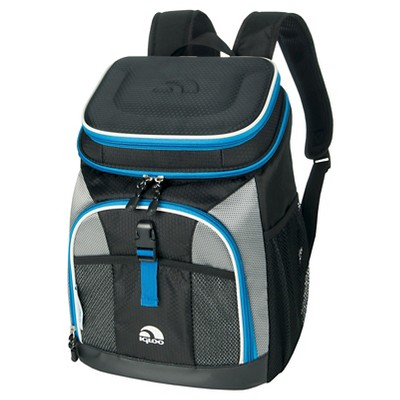 Igloo MaxCold Maxpack Cooler - Black w/Gray