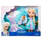 Disney® Frozen -- Elsa Doll and Toddler Dress Combo