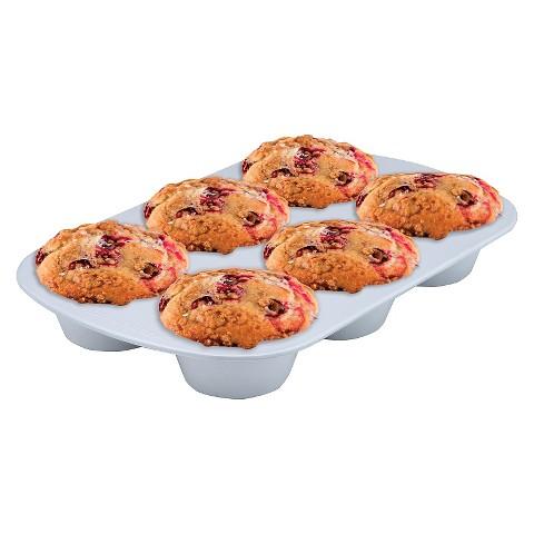 Range Kleen Cerama Bake 6 Cup Jumbo Muffin Pan