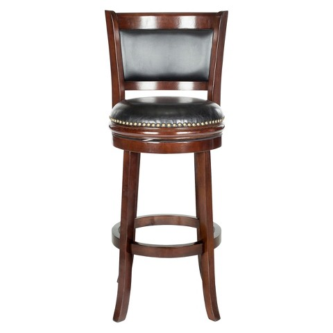 "Safavieh Brockway 29"" Barstool - Black"