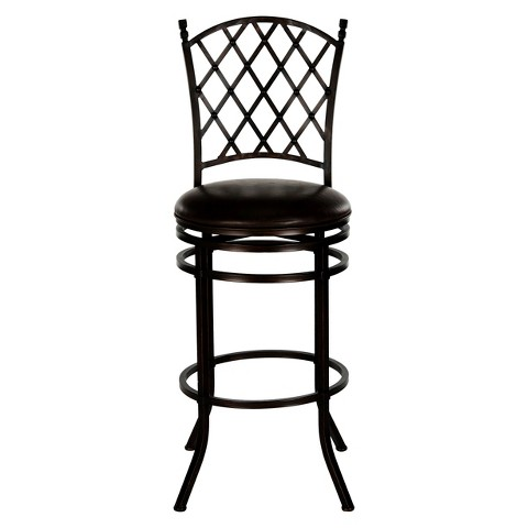 "Safavieh Bagnolet 30.75"" Barstool - Brown"