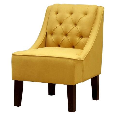 Hudson Swoop Chair Solids Skyline Tar