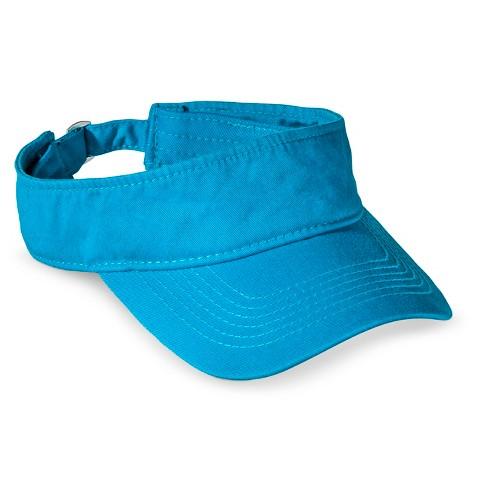 Xhilaration® Solid Visor Hat - Blue