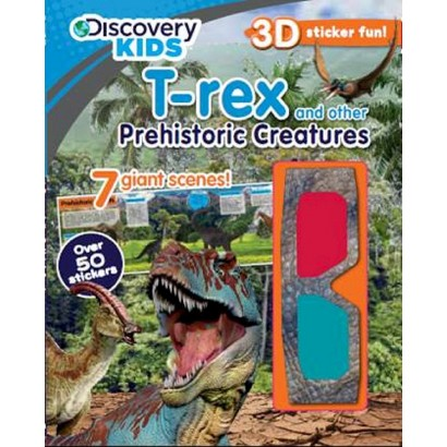 T-rex and Other Prehistoric Creatures (Paperback)
