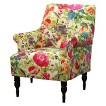 Candace Upholstered Arm Chair - Impression Garden