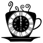 Creative Motions Coffee Cup Clock