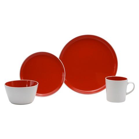Oneida Stoneware 16 Piece Dinnerware Set